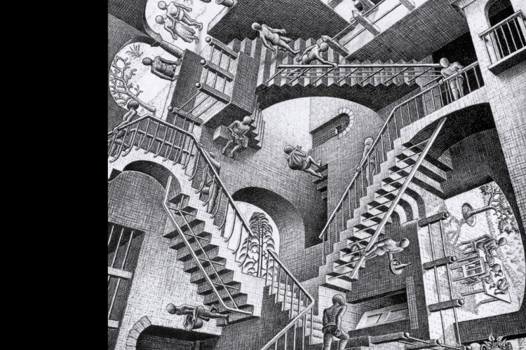 Mc Escher Stairs To Nowhere