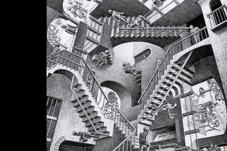 Mc Escher Stairs To Nowhere