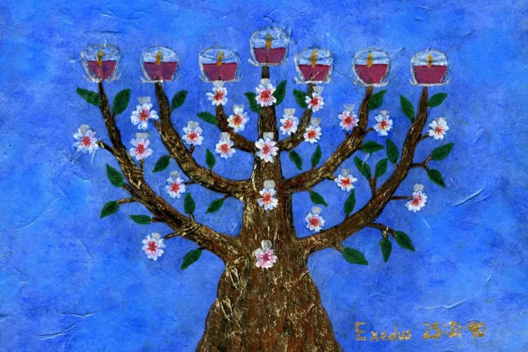 Divine Light Of The Menorah