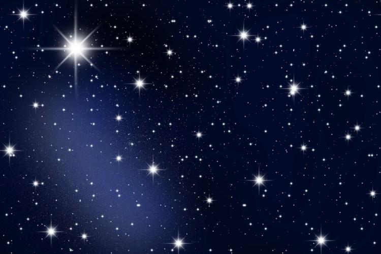 Bright Stars In The Galaxy Wide Desktop Background