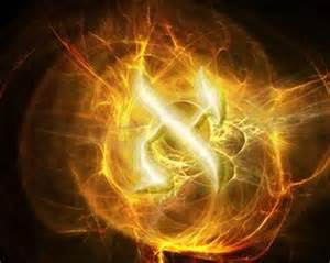The White Fire Aleph