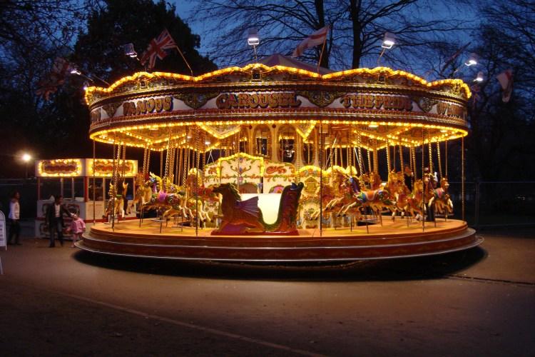Carousel At Hyde Park