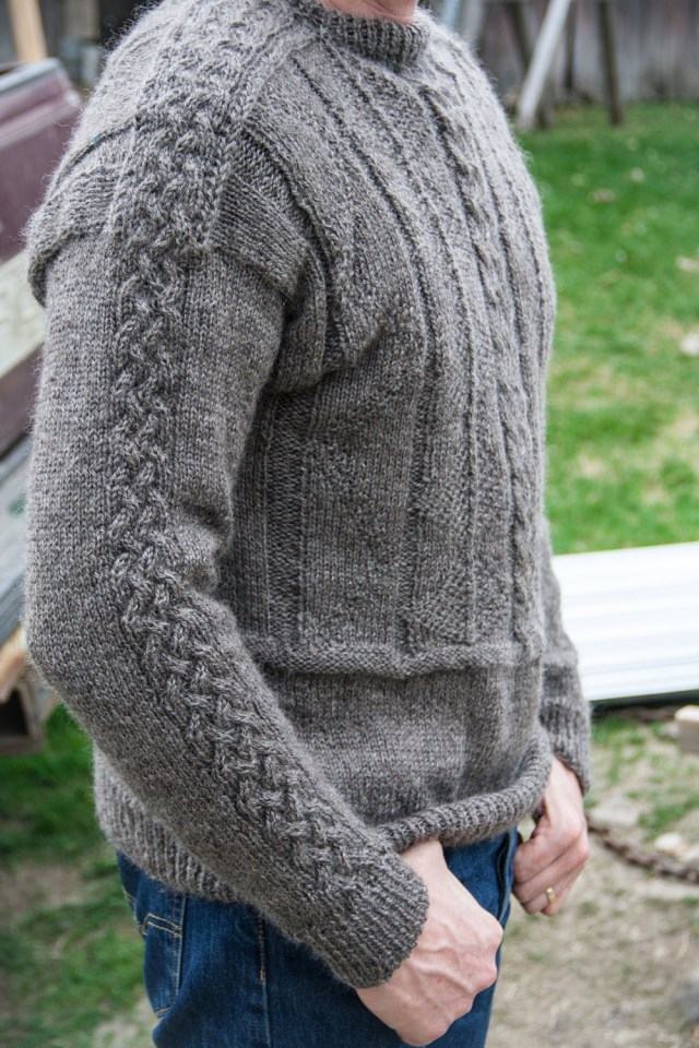 Gansey Sweater for a Shepherd