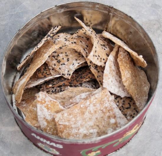 Spelt Crisp Bread