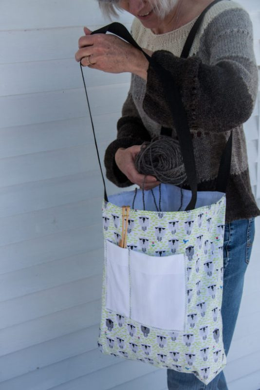 Gotland Sheep Tote Bag
