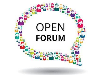 """""""Open Forum"""""""
