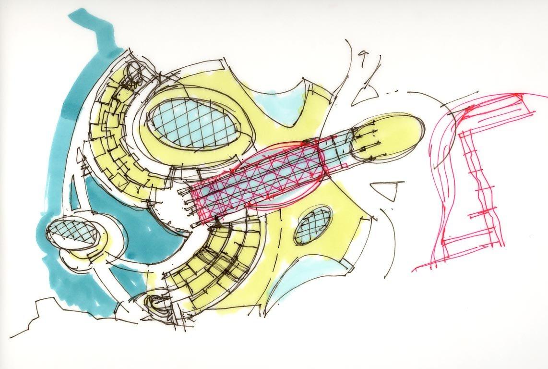 quarry concept sketch