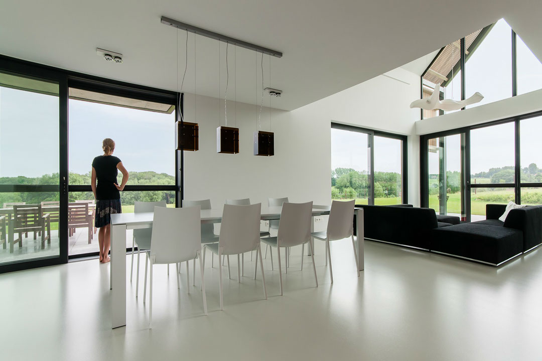 A drastic renovation turns an old barn into a lovely for Design sito