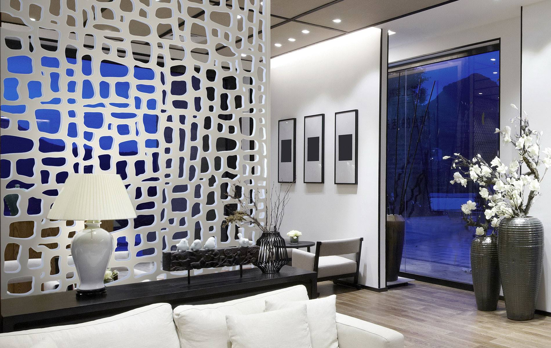 30 CREATIVE PARTITION IDEAS THAT CAN REPLACE WALLS on Creative Wall Design Ideas  id=64193