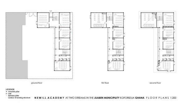 Newill Academy_04_plans