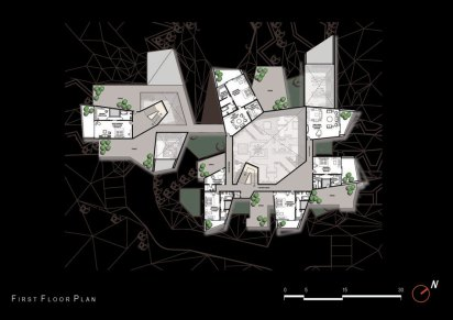 courtyard house_02_plans