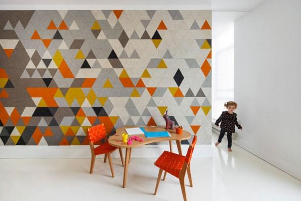 creative accent walls