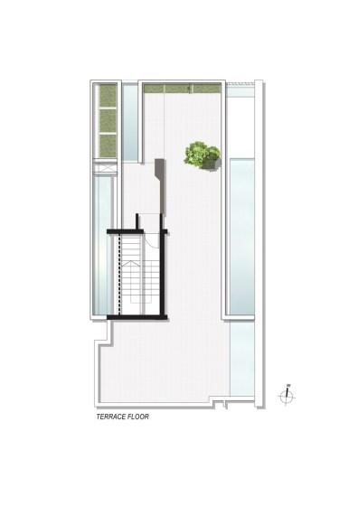 Badri Residence TERRACE_FLOOR_PLAN_Architecture Paradigm