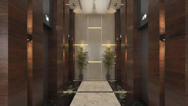 88 Nairobi_Ground Floor 16-Elevator Lobby_MSA Mimarlik