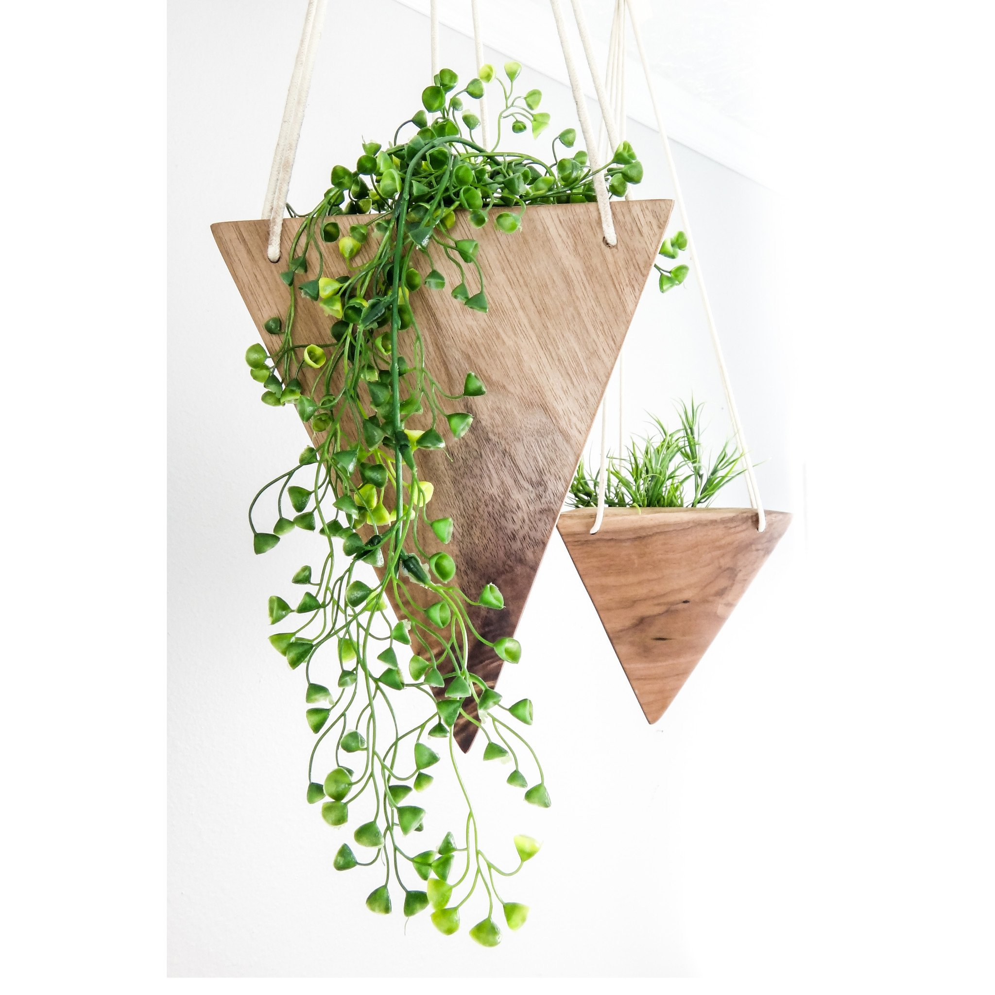 Each Planter Is Handmade In Either Black Walnut Or Maple,