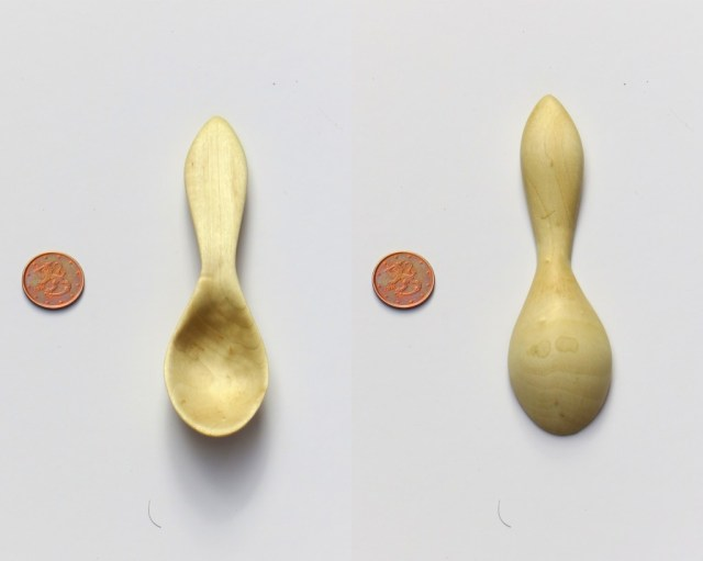 Maple dessert spoon