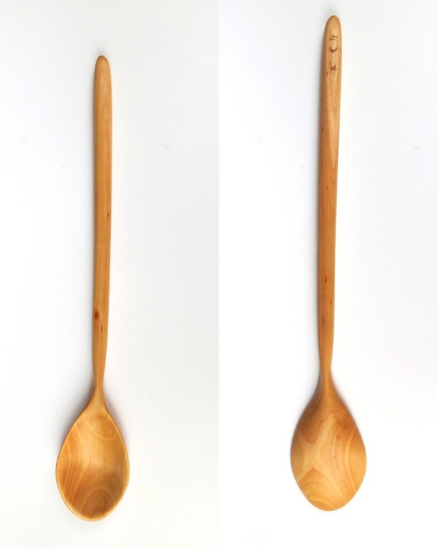 Alder cooking spoon