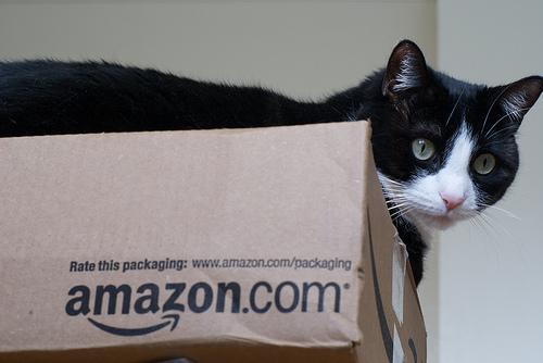 Amazonから小さな箱が届きました!