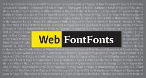 『WEBフォント』とは何か?ブログに使用する上で少し考えてみた!