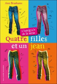 Couverture Quatre filles et un jean, intégrale