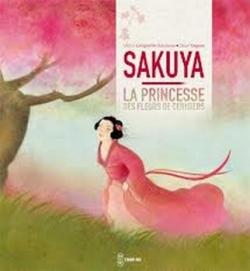 Couverture Sakuya, la princesse des fleurs de cerisiers