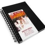 Diário Gráfico / Skecth Book A5  80 folhas / 110 gramas espiral Art Creation TALENS