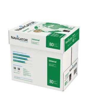 Papel 80 gramas Navigator – Caixa com 5 resmas – 2500 folhas NAVIGATOR