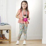 Boneca Littles by Baby Alive Iris  E7174 + oferta de pack de acessórios HASBRO