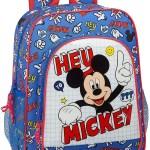 Mochila escolar Mickey Things SAFTA