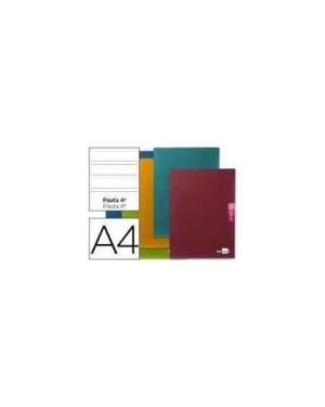 Caderno 2 linhas A4 agrafado 48 folhas / 90 gramas LIDERPAPEL (1 unidade)
