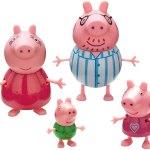 Peppa Pig familia na hora de dormir pack de 4 BANDAI