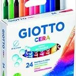 Lápis de cera 24 cores GIOTTO
