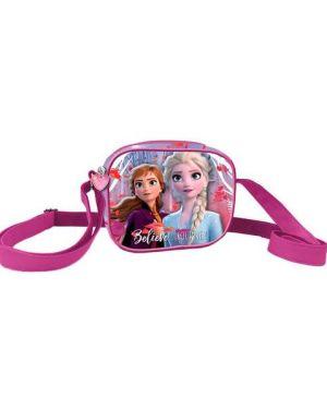 Bolsa Frozen 3D Quad Elsa e Anna
