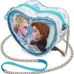 Bolsa Frozen 2 Coração Elsa e Anna