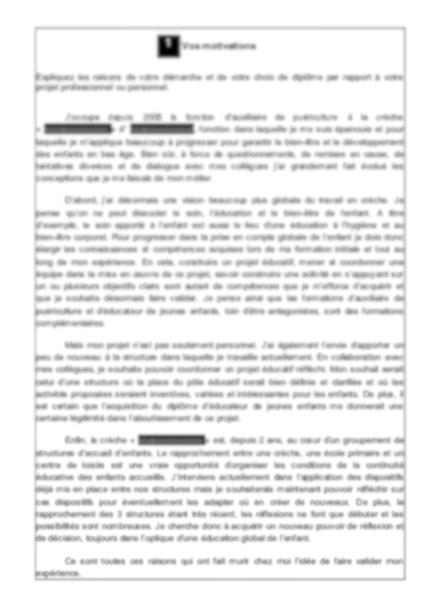 Livret 2 VAE DEEJE Diplôme d'état d'éducateur de jeunes ...