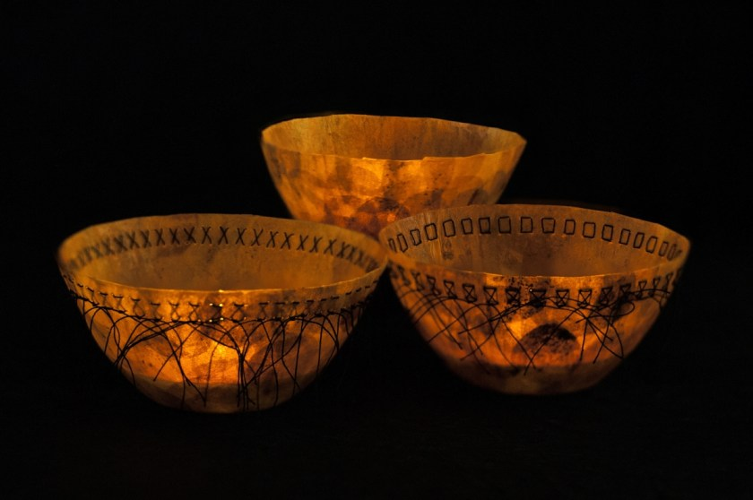Ceremonial-Bowls 1, 2 and 3