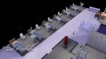 Screenshot of the Sims 4  Copyright Liz BlackX