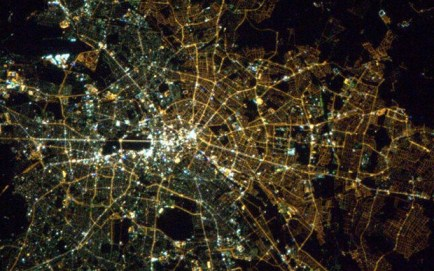 Berlin at night (Hadfield)