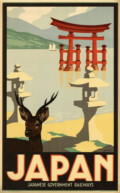 Japanese Railways poster