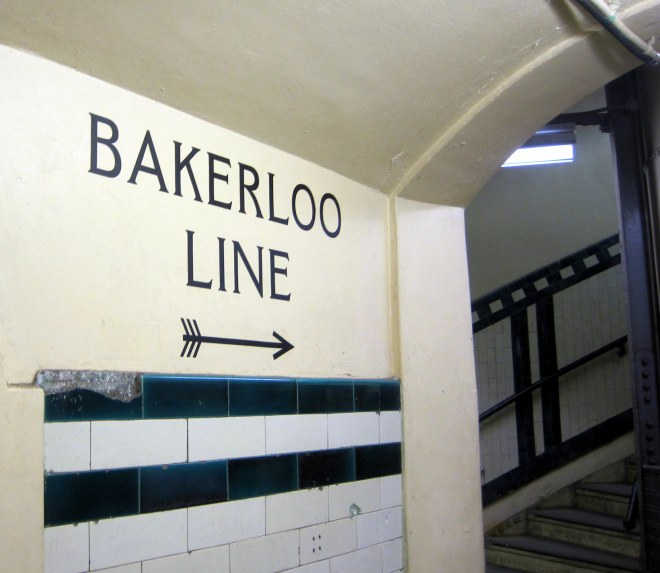 Bakerloo Line Sign