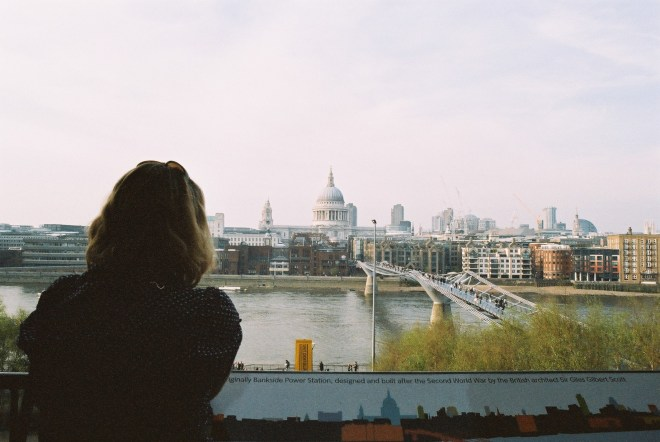 Looking out at St Paul's, 2010