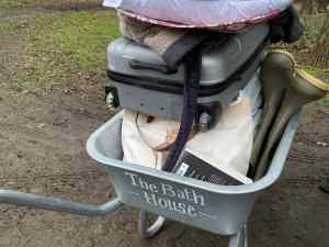 Loaded Wheelbarrow
