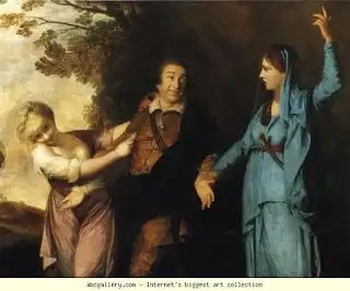 Garrick by Joshua Reynolds, 1760