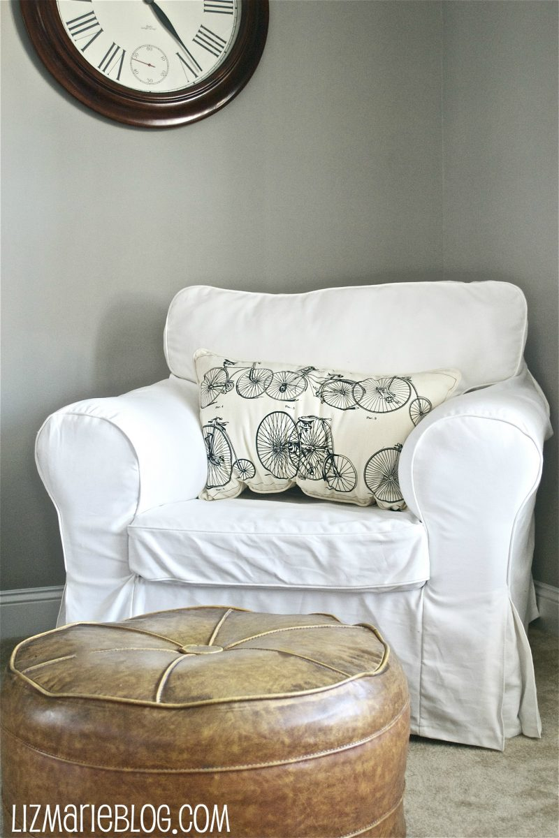White Slipcovered Chairu2026
