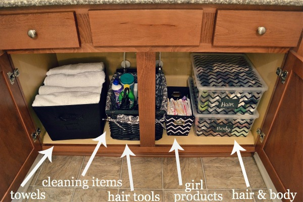 Master Bathroom Organizing Ideas Liz Marie Blog - Family dollar bathroom makeover