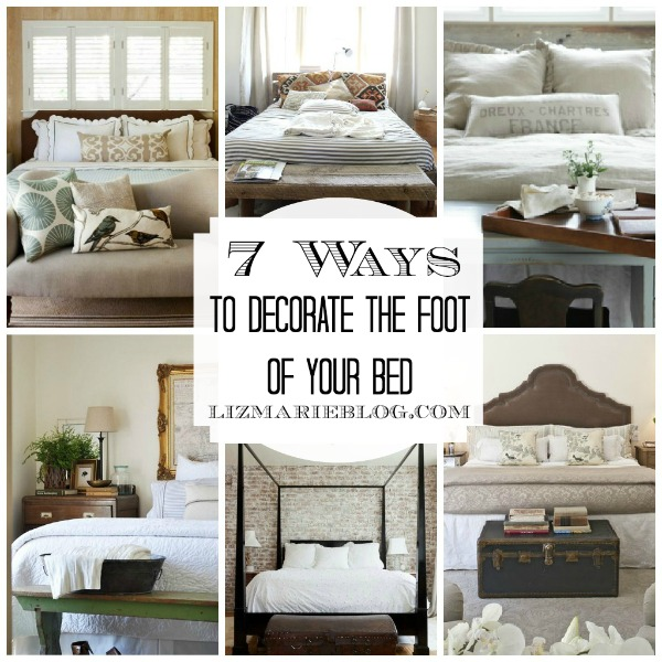 Decorating The Foot Of The Bed