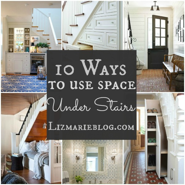 10 Ways To Decorate Under Stairs