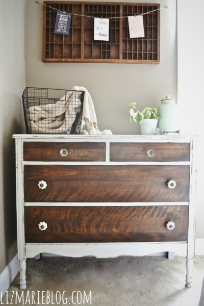 How to strip painted furniture from Liz Marie Blog
