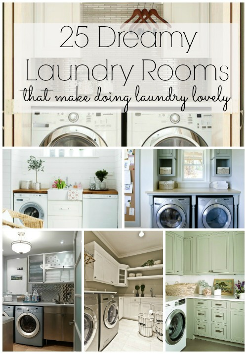 25 dreamy laundry rooms - lizmarieblog