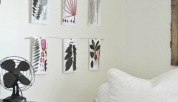DIY Wire Art Display
